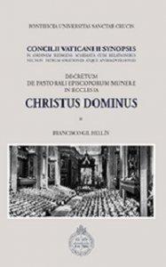 Copertina di 'Christus dominus Concilii Vaticani II synopsis'