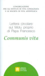 Copertina di 'Communis Vita'
