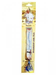 Copertina di 'Braccialetto della fede con Papa Francesco e Preghiera semplice'