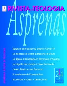 Copertina di 'Asprenas n. 1/2021'
