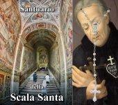 Libretto della storia del Santuario della Scala Santa con rosario