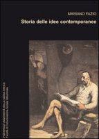 Storia delle idee contemporanee. - Mariano Fazio