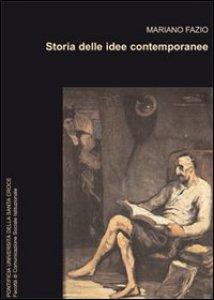 Copertina di 'Storia delle idee contemporanee.'
