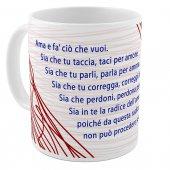 """Immagine di 'SpiriTazza """"Ama e fa' ciò che vuoi"""" (Sant'Agostino)'"""
