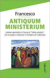 Copertina di 'Antiquum ministerium'