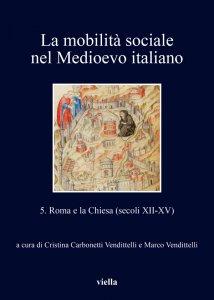 Copertina di 'La mobilità sociale nel Medioevo italiano 5'