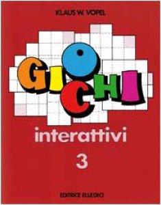Copertina di 'Giochi interattivi. Vol. 3'