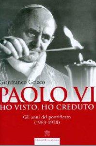 Copertina di 'Paolo VI. Ho visto, ho creduto'