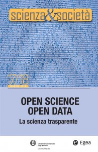Copertina di 'Scienza&Società 17/18. Open Science Open Data'