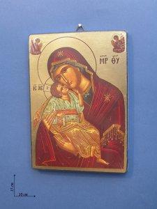 """Copertina di 'Icona """"Maternità"""" (cm 10 x 14)'"""