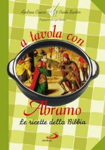 Copertina di 'A tavola con Abramo'