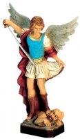 Statua San Michele Arcangelo in materiale infrangibile - cm 16 di  su LibreriadelSanto.it