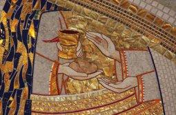 Copertina di 'STOCK: Quadro Pane e Vino stampa su legno - 10 x 15 cm'