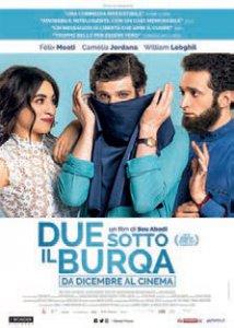 Copertina di 'Due sotto il burqa'