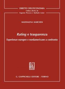 Copertina di 'Rating e trasparenza'