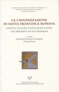 Copertina di 'La canonizzazione di Santa Francesca Romana'