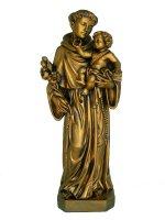 """Statua in fibra di vetro """"Sant'Antonio di Padova"""" - altezza 60 cm"""