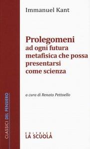 Copertina di 'Prolegomeni ad ogni futura metafisica che possa presentarsi come scienza'