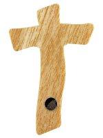 Immagine di 'Calamita colorata a forma di croce moderna - dimensioni 7,5x5 cm'