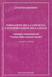 Copertina di 'Formazione della coscienza e interpretazione della legge'