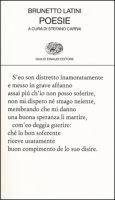 Poesie - Latini Brunetto
