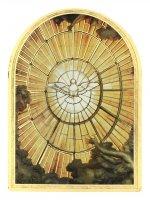 """Icona arcata """"Cresima"""" in legno massello e lamina oro (cm 12 x 8,5 x 1,8)"""