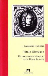 Copertina di 'Vitale Giordano. Un matematico bitontino nella Roma barocca'