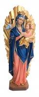 Statua Madre del Perpetuo Soccorso in resina dipinta a mano - 70 cm