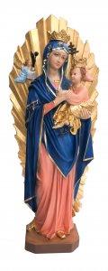 Copertina di 'Statua Madre del Perpetuo Soccorso in resina dipinta a mano - 70 cm'