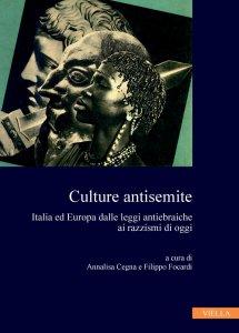 Copertina di 'Culture antisemite'