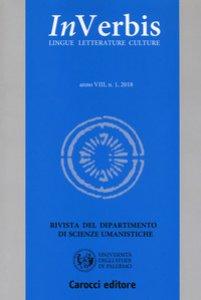 Copertina di 'Inverbis. Lingue letterature culture (2018)'