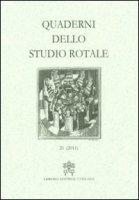 Quaderni dello studio rotale (2011)
