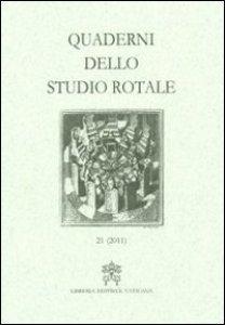 Copertina di 'Quaderni dello studio rotale (2011)'