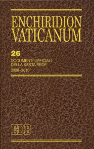 Copertina di 'Enchiridion Vaticanum. 26'