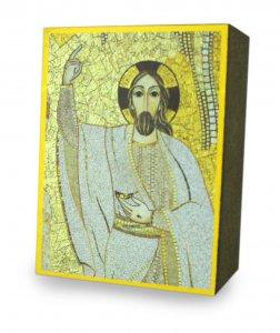Copertina di 'Quadro stampa cm 5,3 x 7,2 spessore cm 2,5 - Cristo di Padre Rupnik'