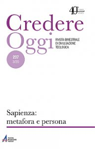 Copertina di 'Sapienza: metafora e persona CredOg XL (3/2020) n. 237'