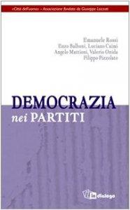Copertina di 'Democrazia nei partiti'