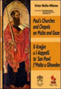 Copertina di 'Paul's churches and chapels on Malta and Gozo'