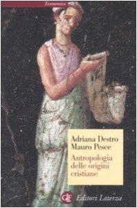 Copertina di 'Antropologia delle origini cristiane'