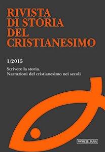 Copertina di 'RSCR. Vol. 1/2015: Scrivere la storia. Narrazioni del cristianesimo nei secoli'