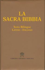 Copertina di 'La Sacra Bibbia - Testo Bilingue Latino-Italiano'