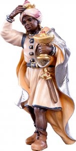 Copertina di 'Re Casparre H.K. - Demetz - Deur - Statua in legno dipinta a mano. Altezza pari a 11 cm.'