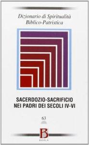 Copertina di 'Sacerdozio-Sacrificio nei Padri dei secoli IV-V'