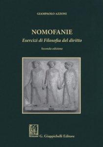 Copertina di 'Nomofanie. Esercizi di Filosofia del diritto'