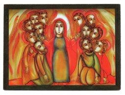 Copertina di 'Quadro pentecoste Padre Rupnik stampa - 5,5 x 7,5 cm (Brisbane)'