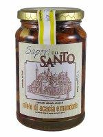 Miele d'acacia con mandorle (430 gr.)