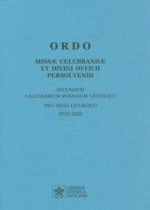 Copertina di 'Ordo missae celebrandae et divini officii persolvendi'
