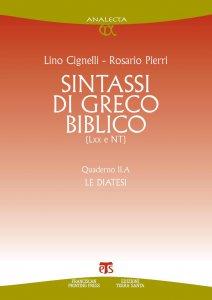 Copertina di 'Sintassi di greco biblico (LXX e NT)'