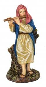 Copertina di 'Pastore con piffero Linea Martino Landi - presepe da 10 cm'