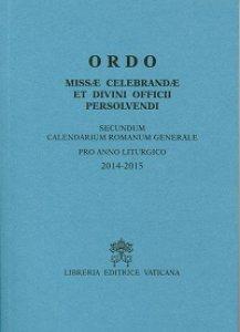 Copertina di 'Ordo missae celebrandae et divini officii persolvendi (latino)'